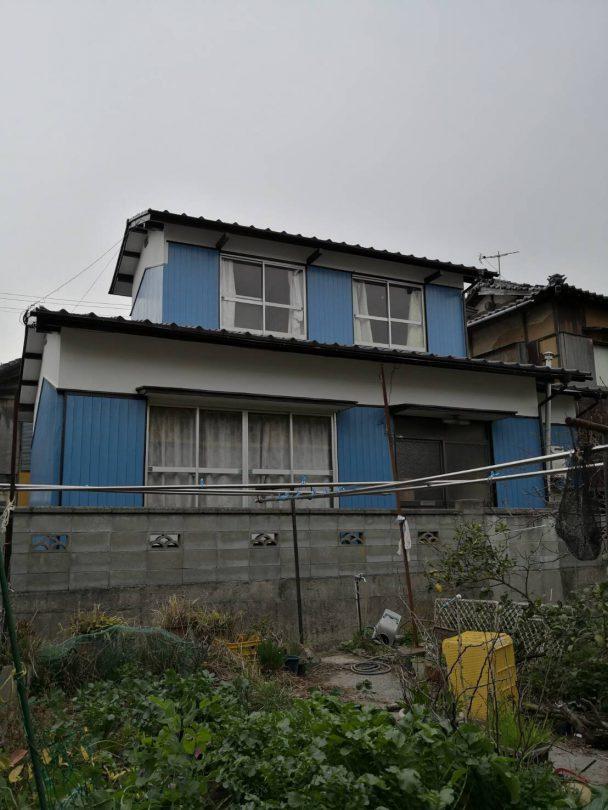 松山市由良町329番地 借家物件の外観